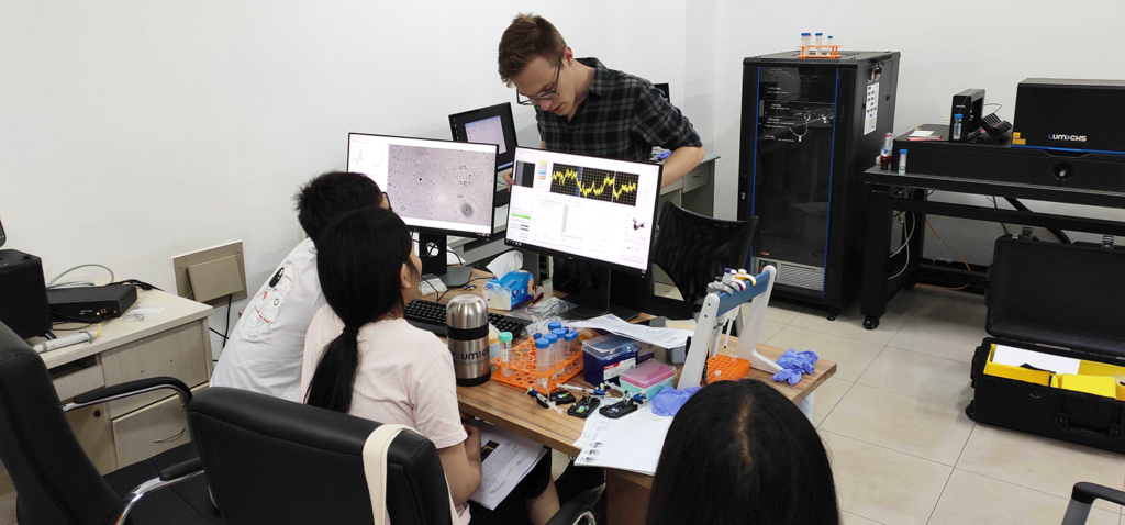 C-Trap™ & AFS™ installed at Tianjin University
