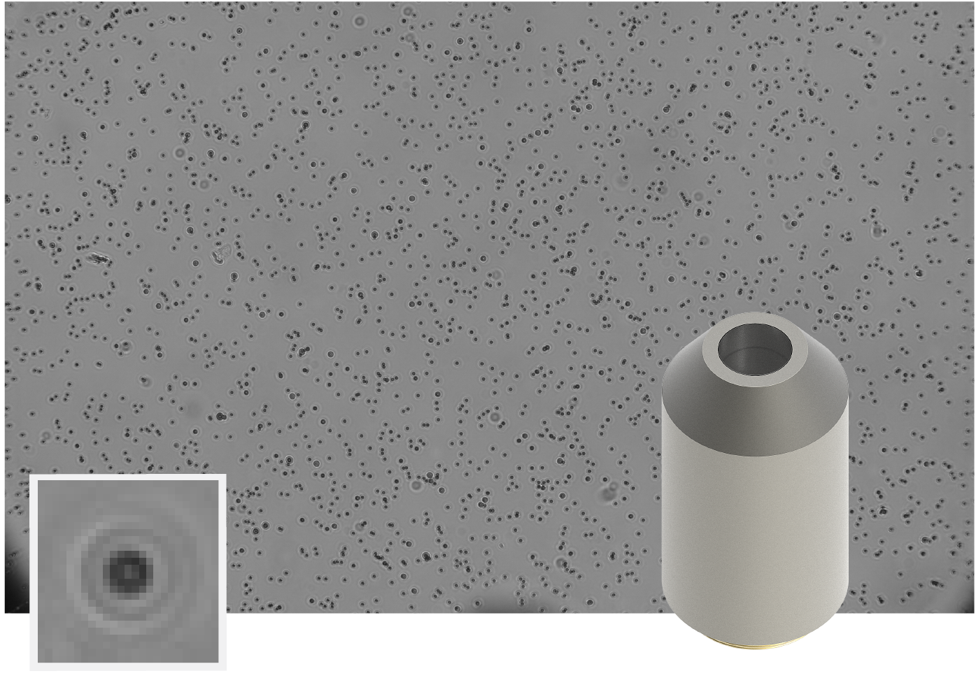 AFS 10x Magnification objective