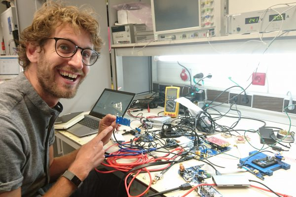 A happy engineer!